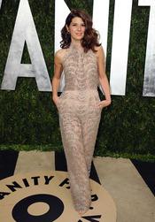 Marisa Tomei en la fiesta de Vanity celebrada tras los Oscar 2013