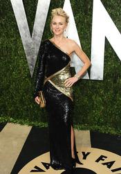 Naomi Watts en la fiesta de Vanity celebrada tras los Oscar 2013