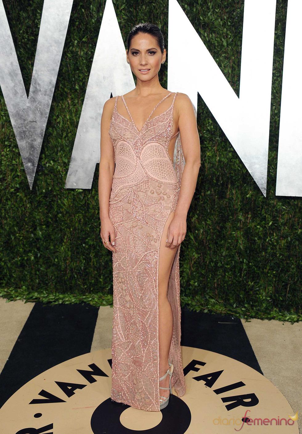 Olivia Munn en la fiesta de Vanity celebrada tras los Oscar 2013