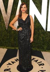 Rashida Jones en la fiesta de Vanity celebrada tras los Oscar 2013