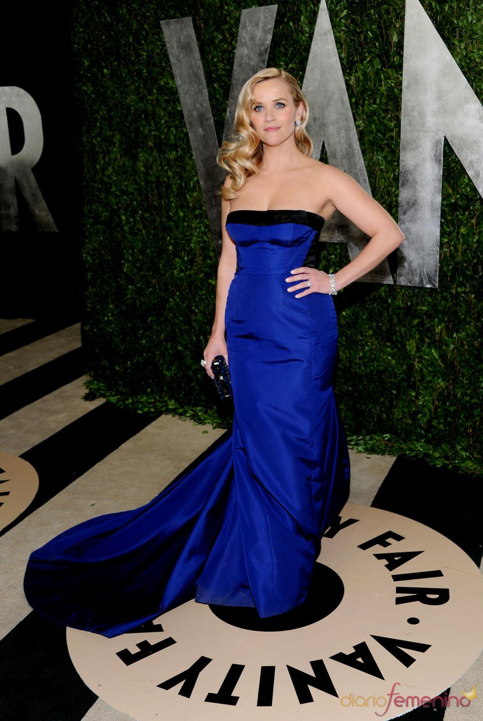 Reese Witherspoon en la fiesta de Vanity celebrada tras los Oscar 2013