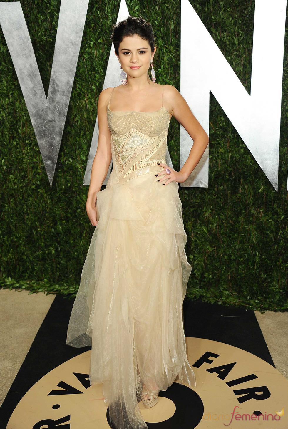 Selena Gomez en la fiesta de Vanity celebrada tras los Oscar 2013