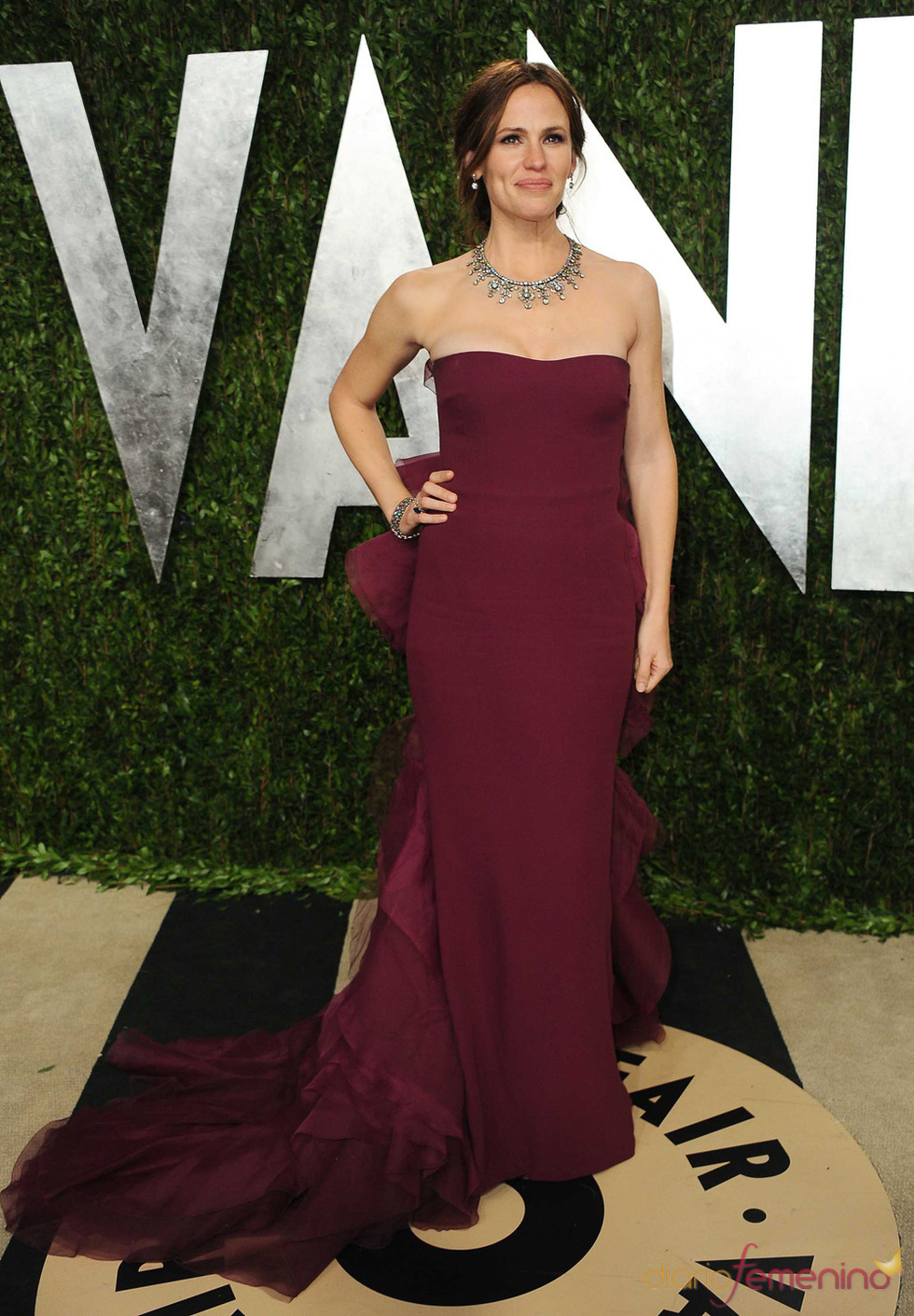Jennifer Garner en la fiesta de Vanity celebrada tras los Oscar 2013