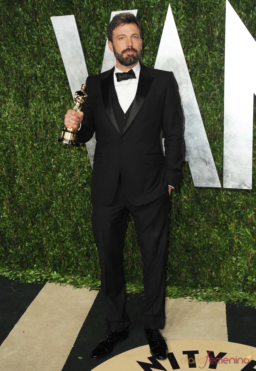 Ben Affleck en la fiesta de Vanity celebrada tras los Oscar 2013