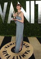 Anne Hathaway en la fiesta de Vanity celebrada tras los Oscar 2013