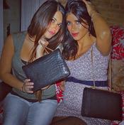 Daniella Semaan muestra su embarazo junto a Antonella Roccuzzo