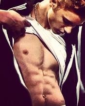 Las 19 fotos más sensuales de Justin Bieber: explosivo