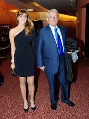Pepe Sancho y su mujer Reyes Monforte en Madrid