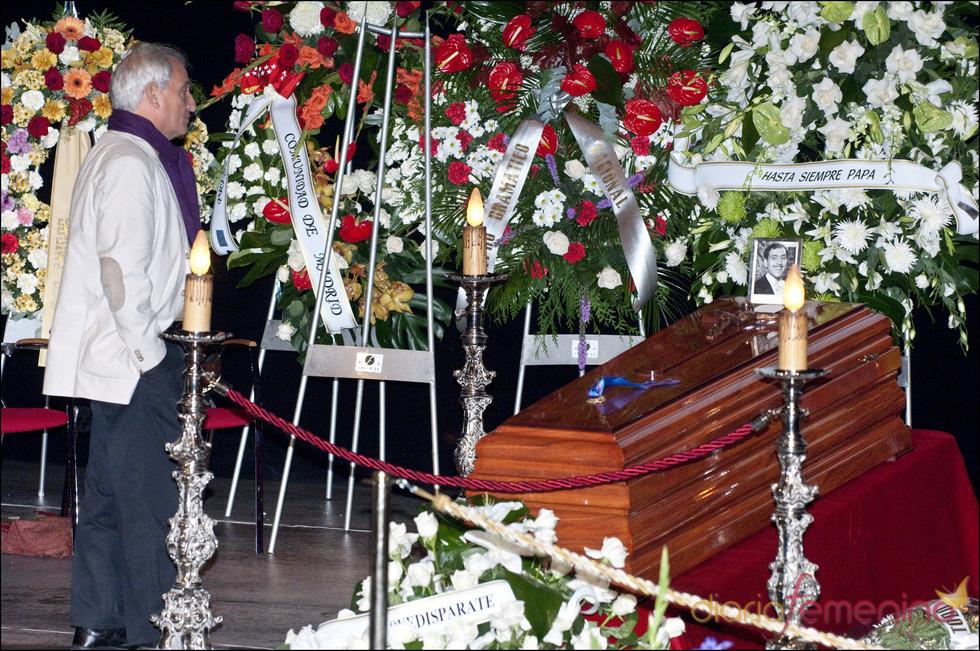 Pepe Sancho en el último adiós a Jose Luis Lopez Vazquez