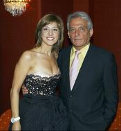 La pareja Pepe Sancho y Reyes Monforte