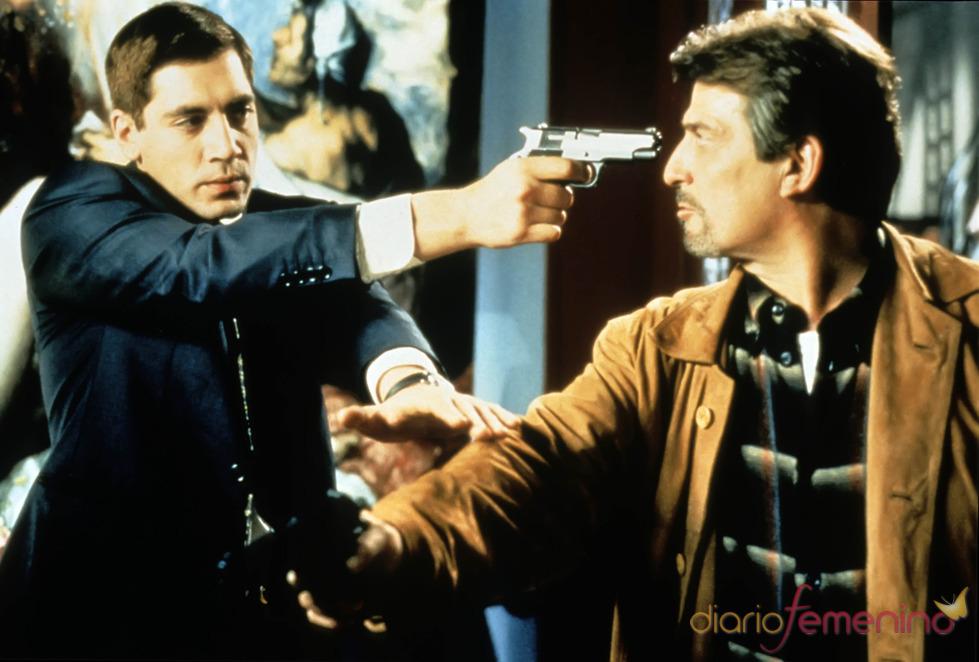 Pepe Sancho y Javier Bardem en Carne Trémula