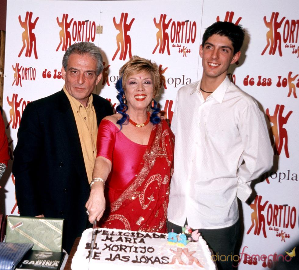 Alejandro, hijo de Pepe Sancho y Maria Jimenez