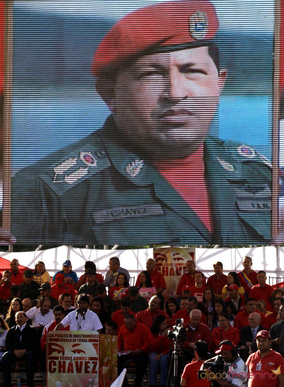 El funeral de Hugo Chávez: legiones de fans