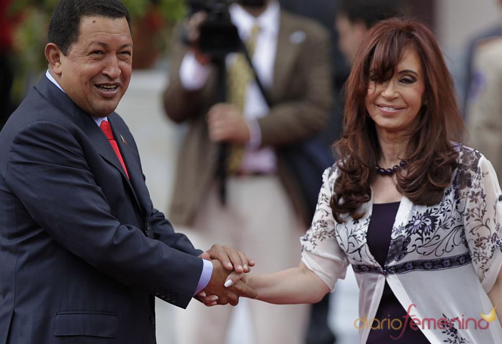Funeral de Hugo Chávez: sus amistades en América