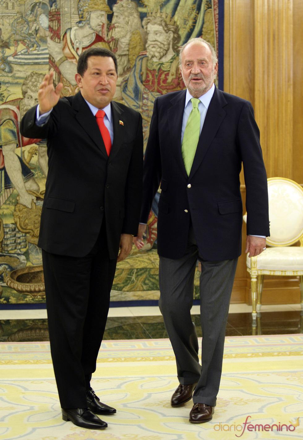 Funeral de Hugo Chávez: su relación con el Rey don Juan Carlos