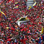 Funeral de Hugo Chávez: explosión de dolor en Venezuela