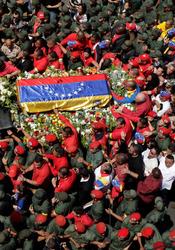 Funeral de Hugo Chávez: Venezuela, rota por la muerte de Chávez