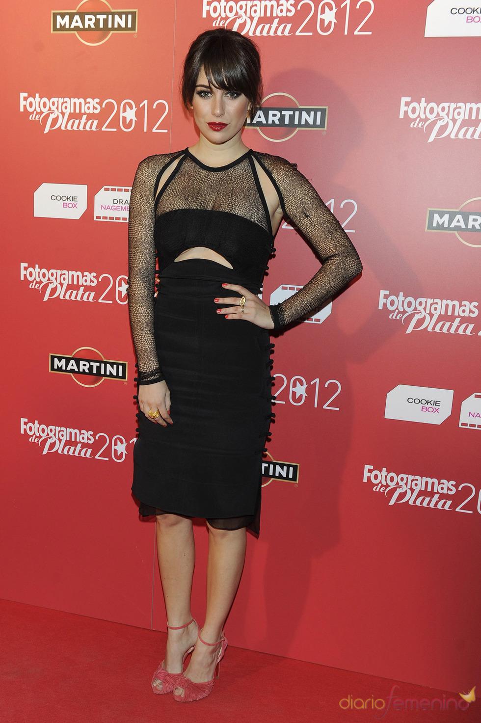 Blanca Suárez en la alfombra roja de los Fotogramas 2012
