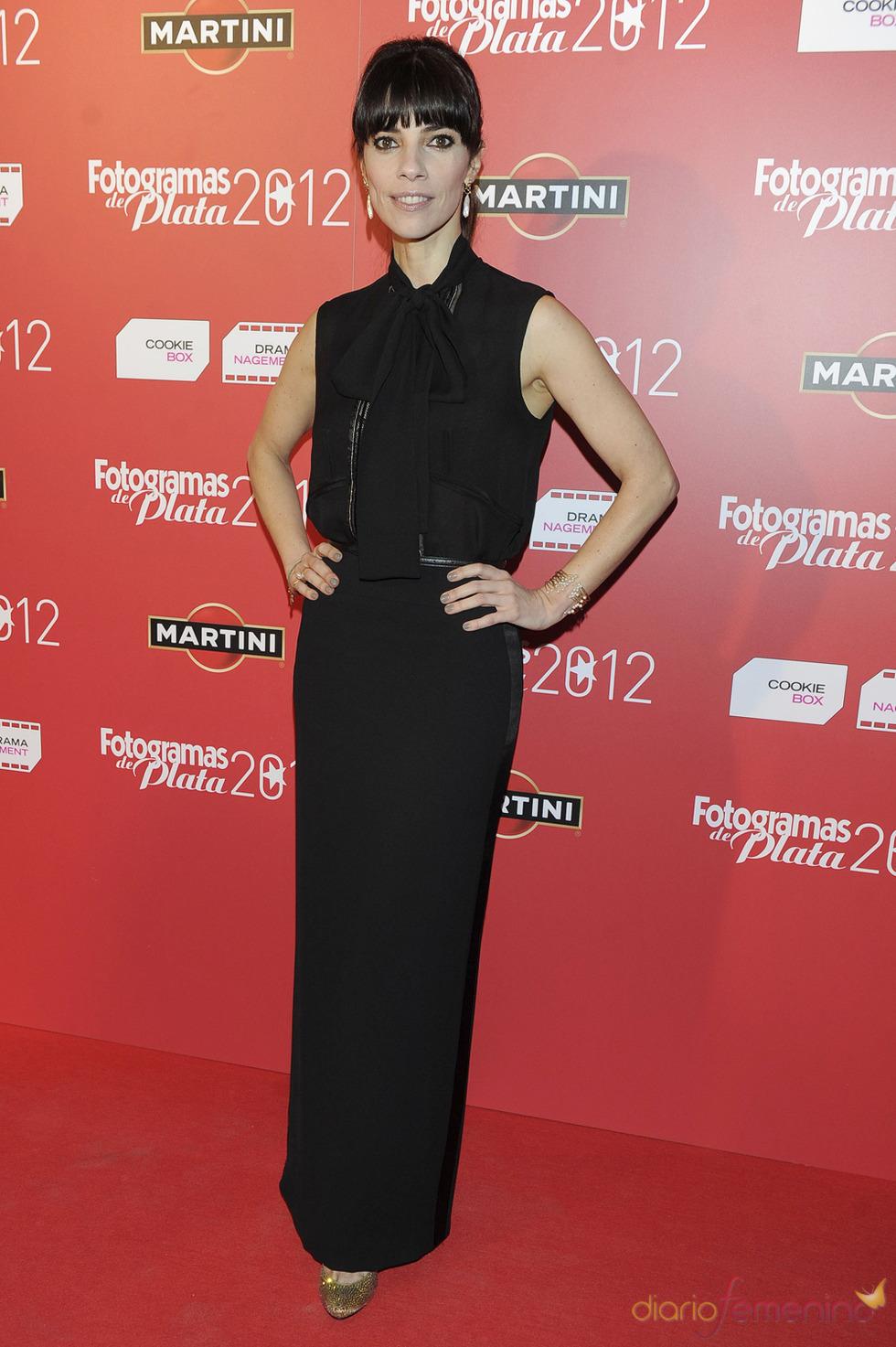 Maribel Verdú en la alfombra roja de los Fotogramas 2012