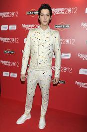 Eduardo Casanova en la alfombra roja de los Fotogramas 2012