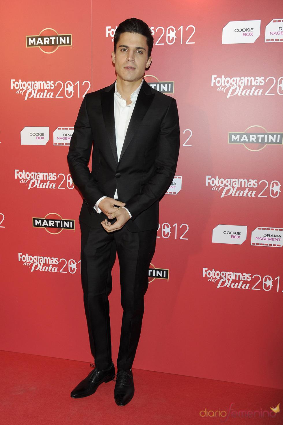 Alex González en la alfombra roja de los Fotogramas 2012