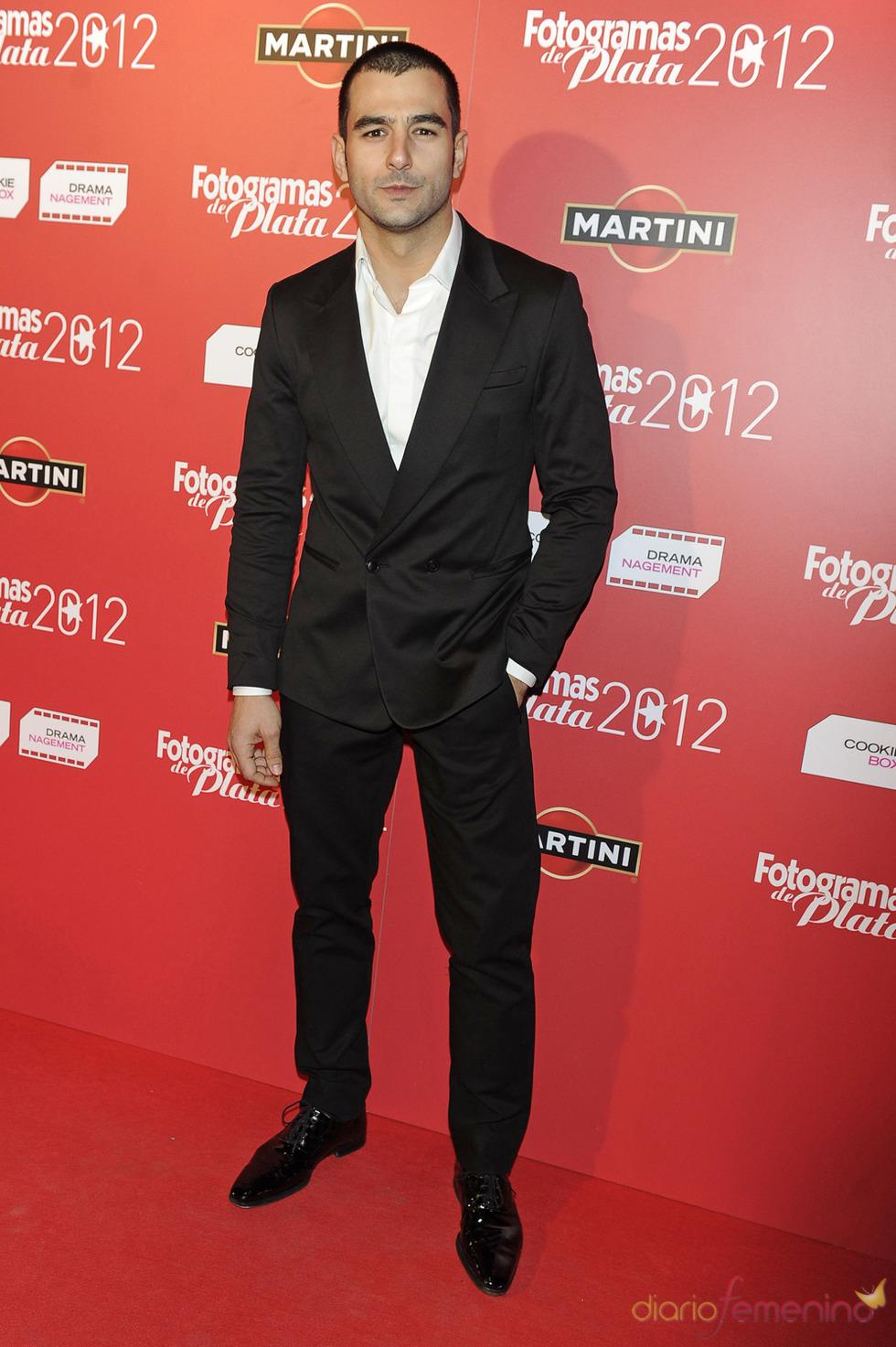Antonio Velázquez en la alfombra roja de los Fotogramas 2012