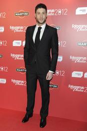 José Lamuño en la alfombra roja de los Fotogramas 2012
