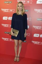 Kira MIró en la alfombra roja de los Fotogramas 2012