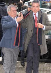 Juicio a Ortega Cano: su llegada a los juzgados