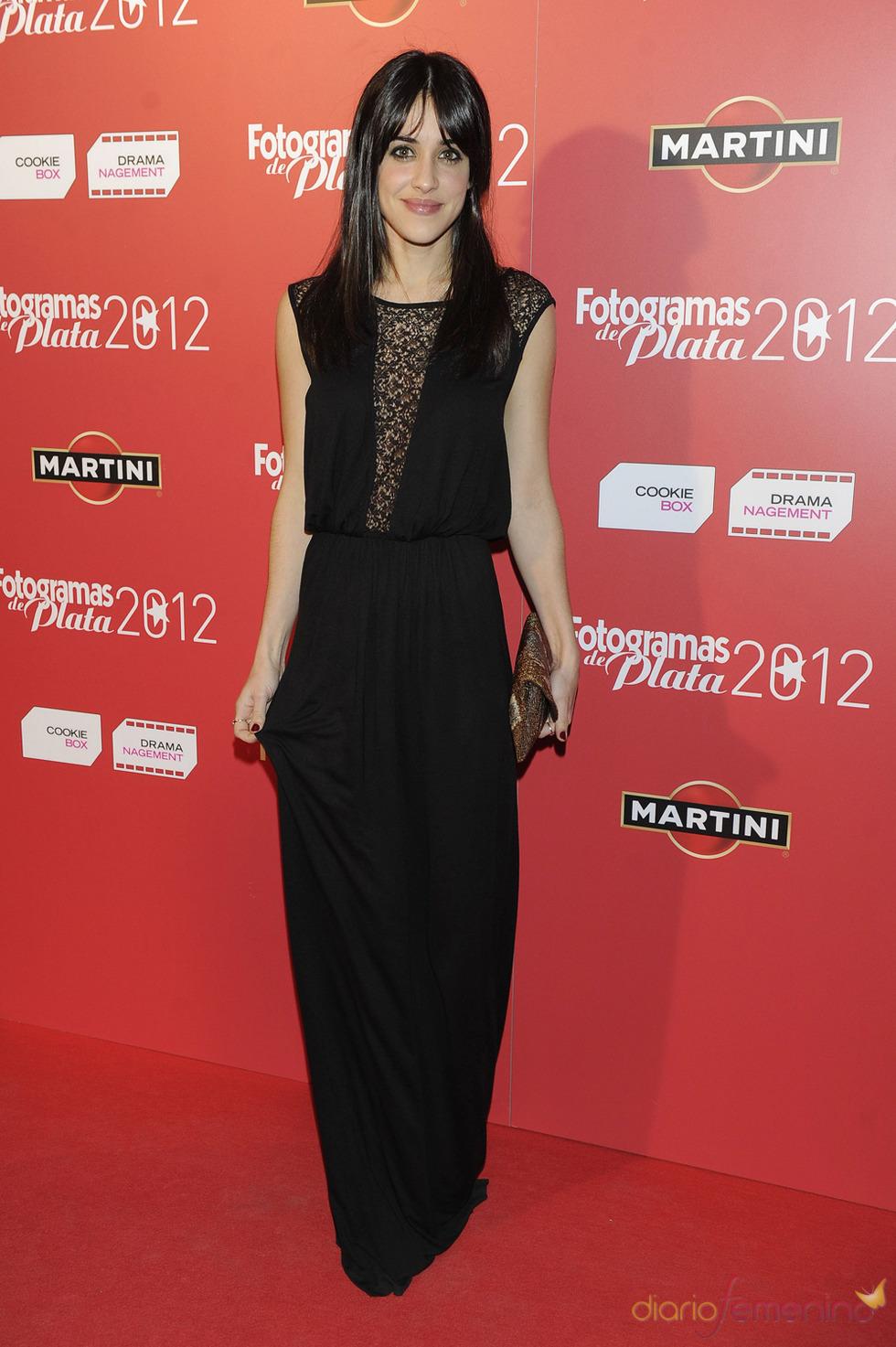 Macarena García en la alfombra roja de los Fotogramas 2012