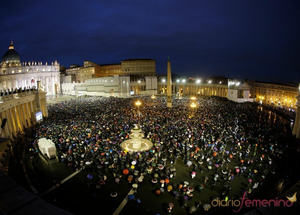 El camino del Nuevo Papa: fiesta en San Pedro
