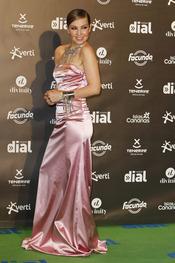 El look de Thalía en los premios Cadena Dial a la música 2013