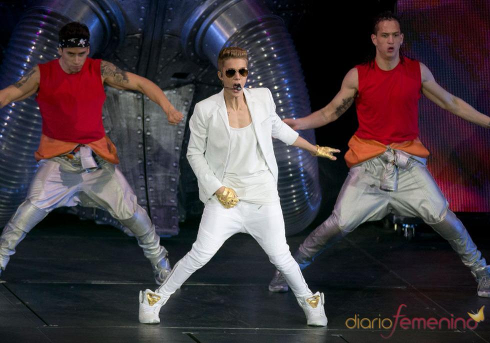 Los conciertos de Justin Bieber: sus bailes más sensuales