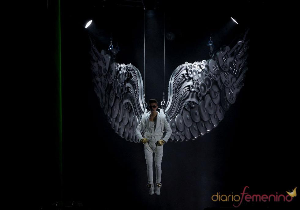 Los conciertos de Justin Bieber: las alas del poder