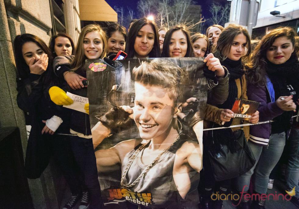 Los conciertos de Justin Bieber: pasión de sus fans
