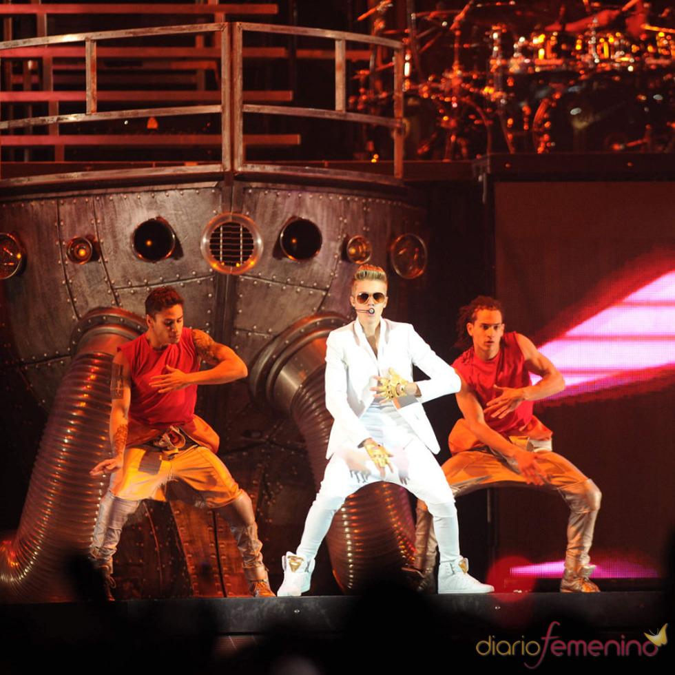 Los conciertos de Justin Bieber: el capitán del barco