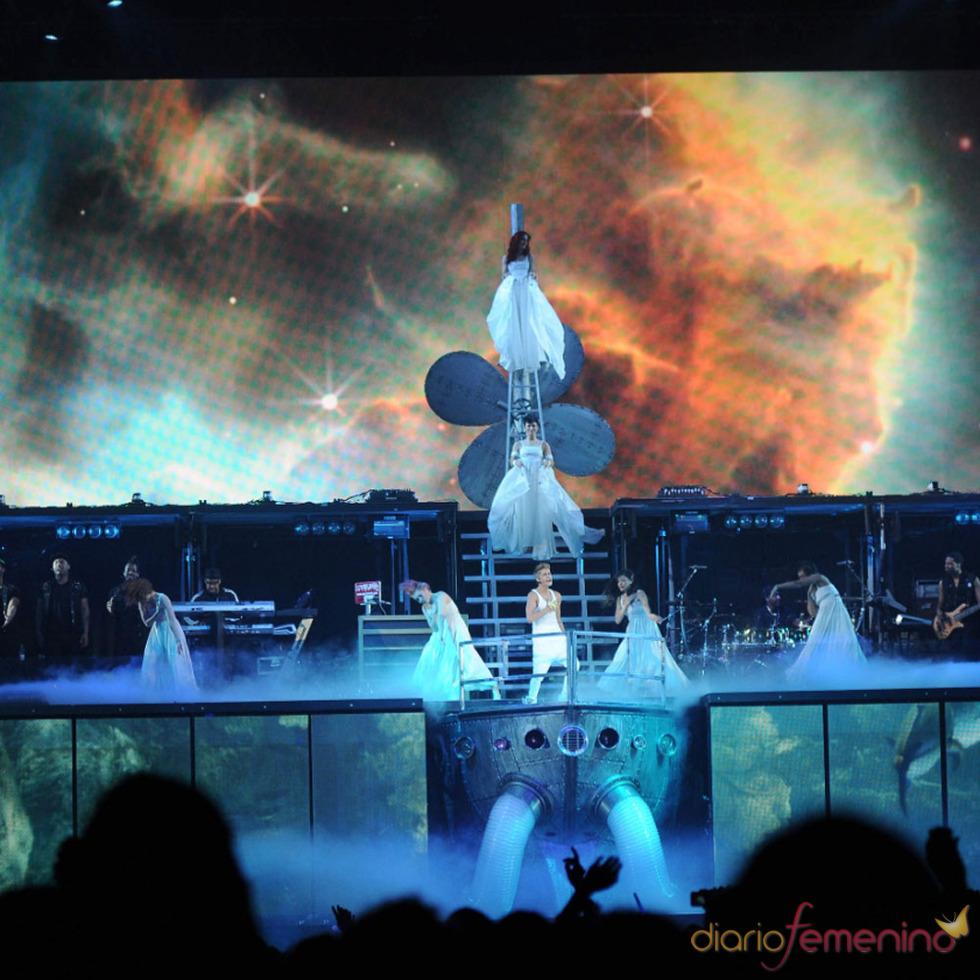 Los conciertos de Justin Bieber: tempestad de colores