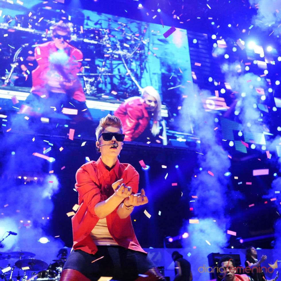 Los conciertos de Justin Bieber: lado más divertido