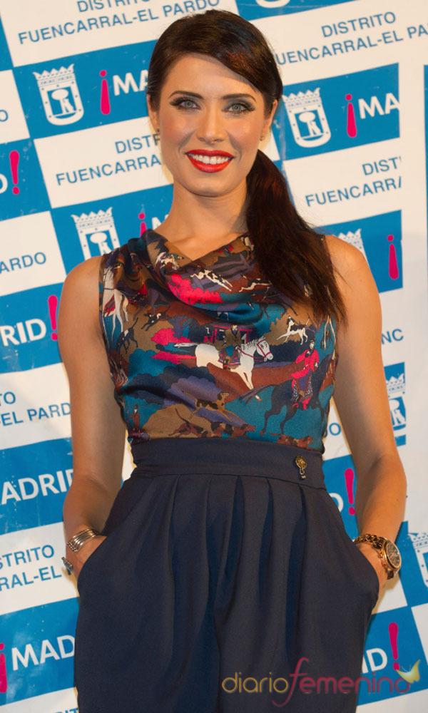 El look de Pilar Rubio:  estampados étnicos
