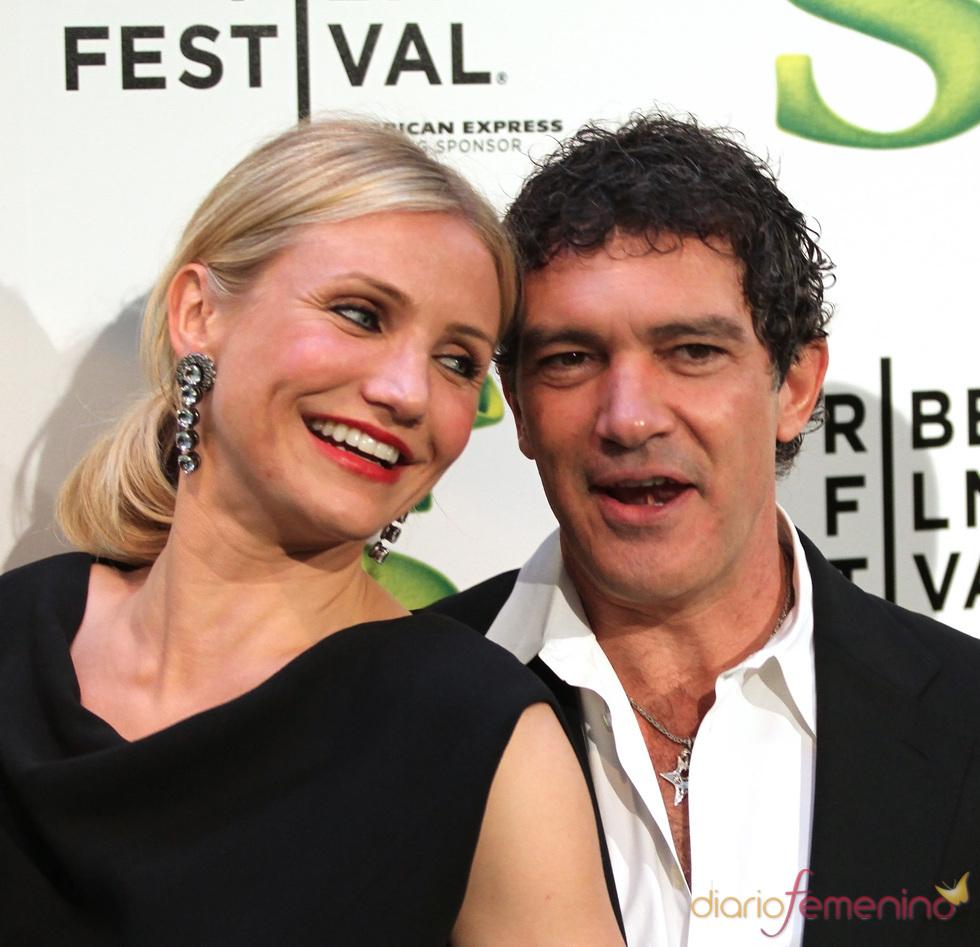 Cameron Diaz y Antonio Banderas estrenan 'Shrek Forever After'