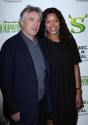 Robert de Niro y Grace Hightower en el Festival de Cine de Tribeca