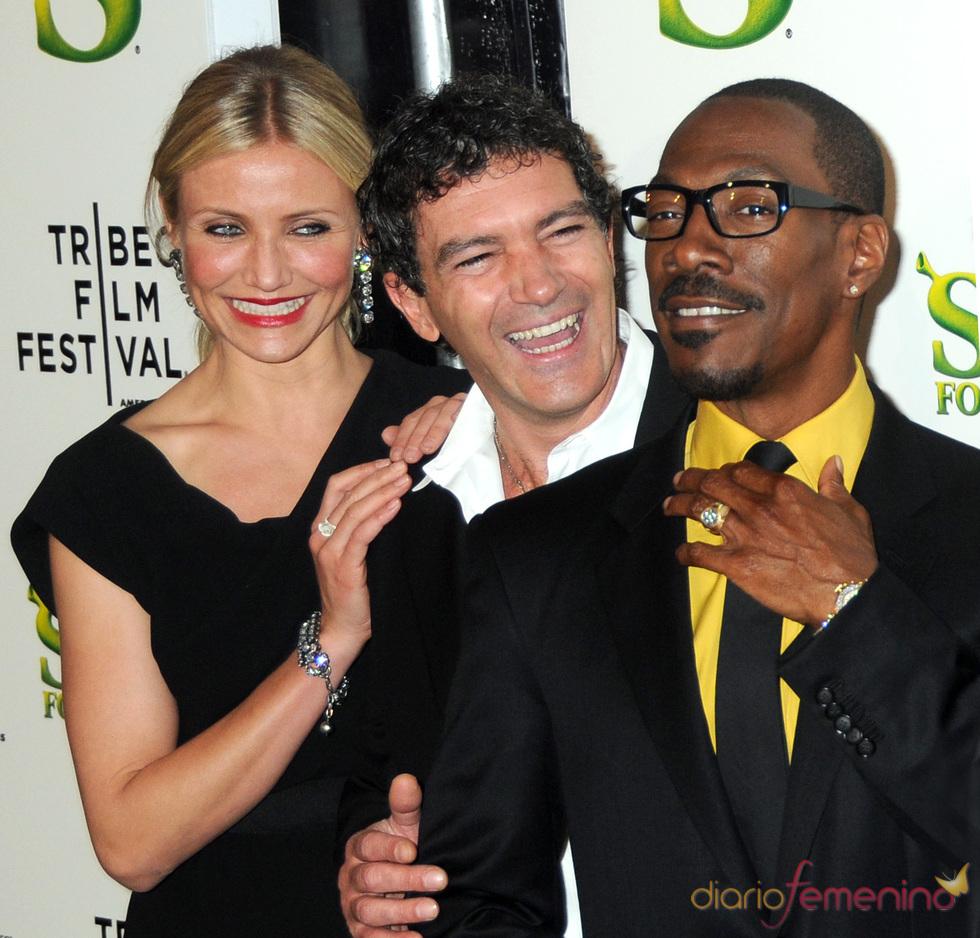 Diaz, Banderas y Murphy en el Festival de Cine de Tribeca