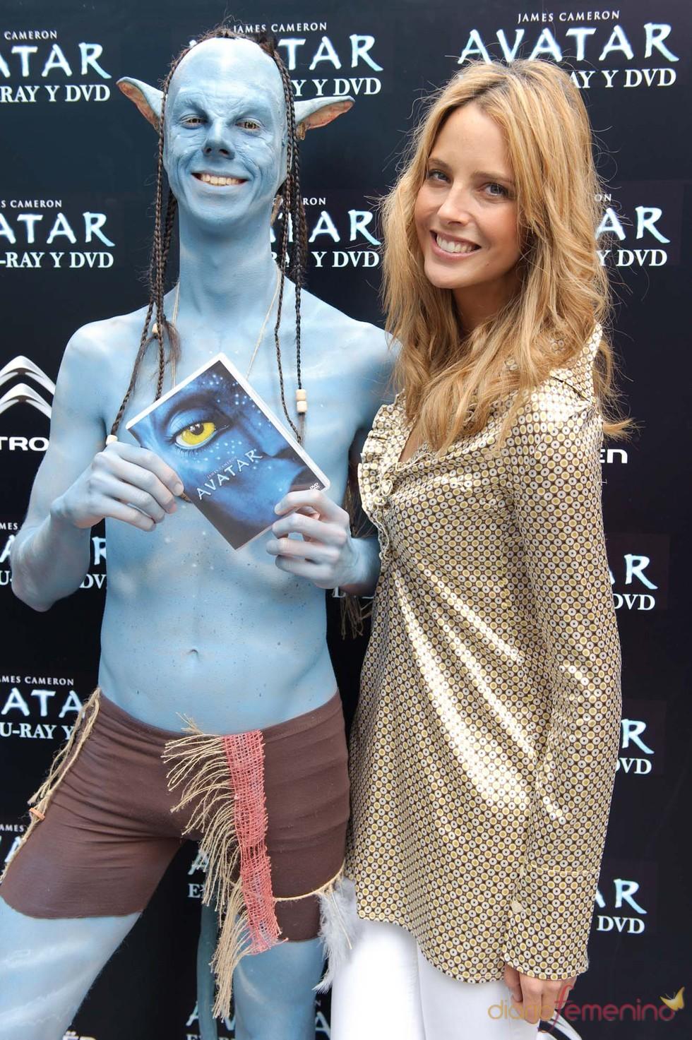 Estefanía Luyk una gran fan de 'Avatar'