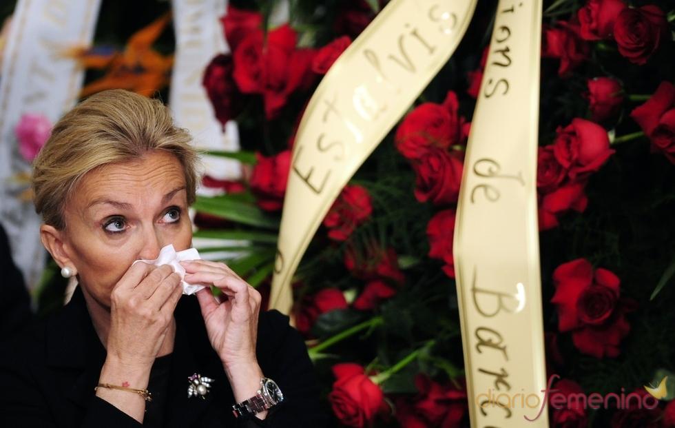 María Teresa Samaranch llora la muerte de su padre