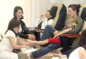 Jennifer Garner lleva a su hija a un centro de estética