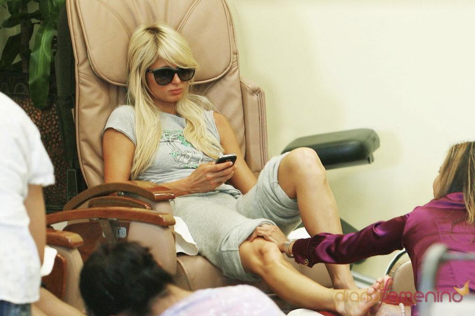 El centro de belleza, la segunda casa de Paris Hilton