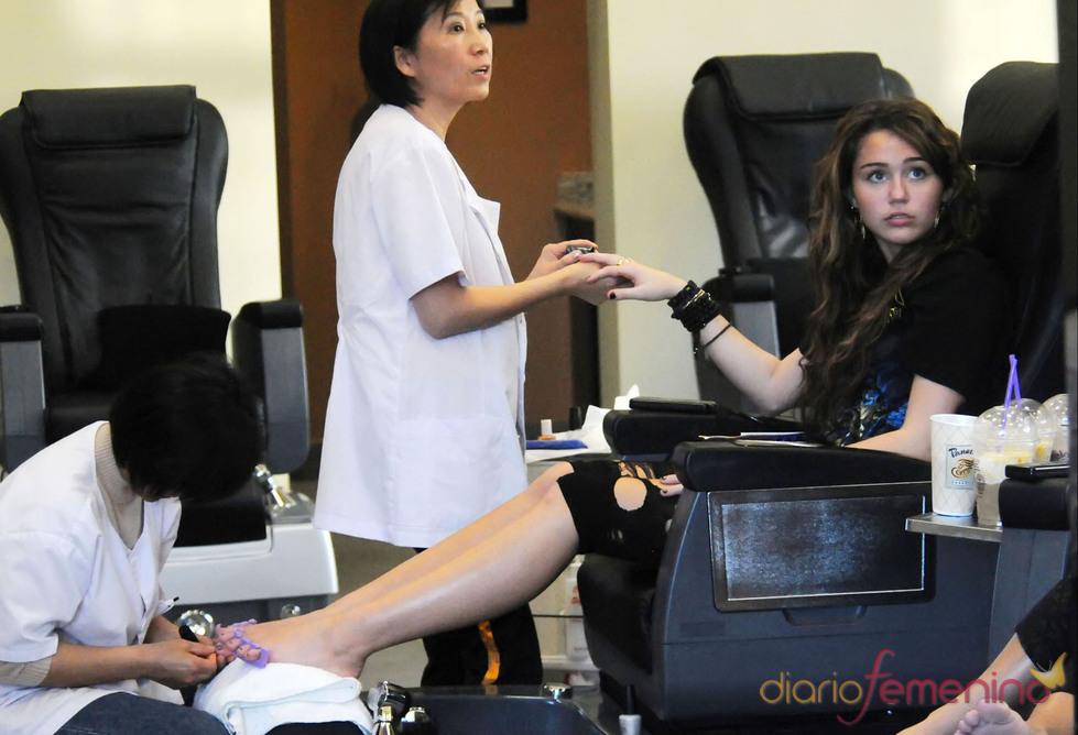 Miley Cyrus y sus tratamientos de belleza