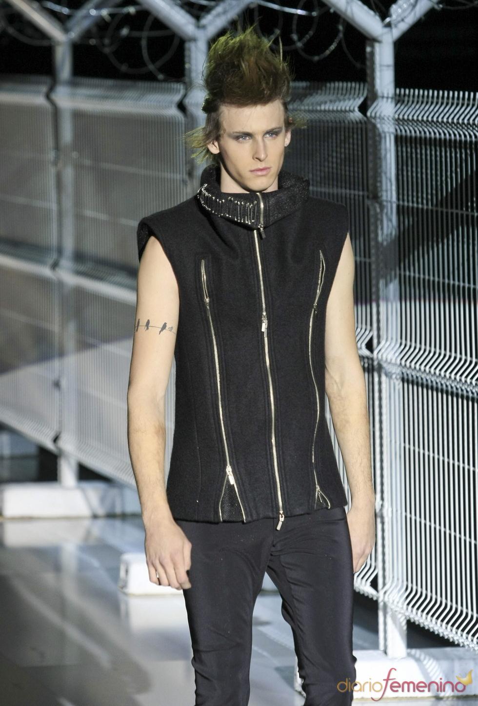 Nicolás Coronado Dominguín, modelo
