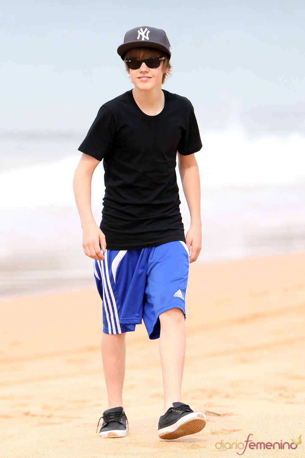 Justin Bieber, look playero