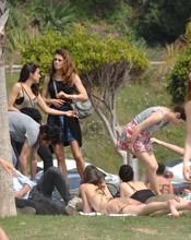 Olivia Molina, con sus nuevos amigos de 'FoQ'